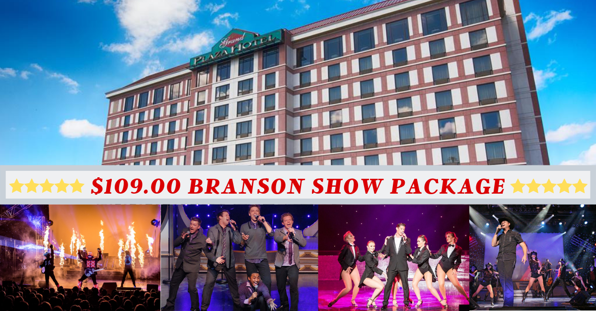 Branson Missouri $109 Vacation Package